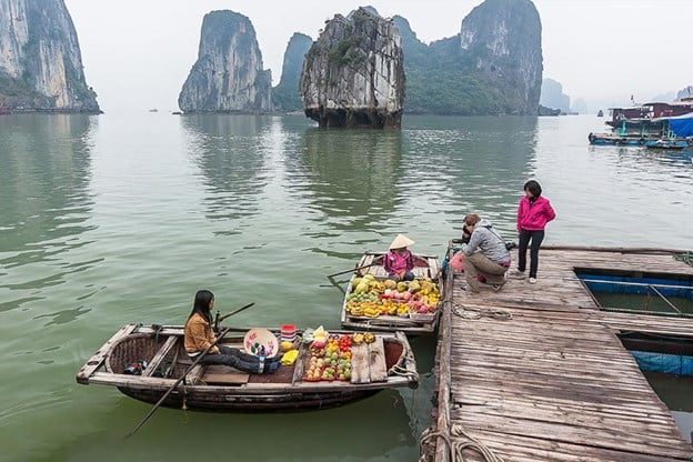 Halong bay day tour, an unforgettable experience for me in 2021