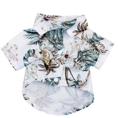 Summer Beach Shirts Dog Cute Hawaii Casual Pet Cat Clothing Floral T Shirt For Small Dogs.jpg 640x640 1 Trafoos Summer Beach Shirts for Dog Cute Hawaii Casual Pet Cat Clothing Floral T Shirt For Small Dogs Summer Beach Shirts for Dog