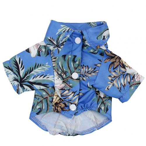 Summer Beach Shirts Dog Cute Hawaii Casual Pet Cat Clothing Floral T Shirt For Small Dogs.jpg 640x640 3 Trafoos Summer Beach Shirts for Dog Cute Hawaii Casual Pet Cat Clothing Floral T Shirt For Small Dogs Summer Beach Shirts for Dog