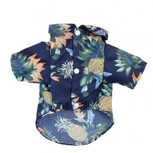Summer Beach Shirts Dog Cute Hawaii Casual Pet Cat Clothing Floral T Shirt For Small Dogs.jpg 640x640 4 Trafoos Summer Beach Shirts for Dog Cute Hawaii Casual Pet Cat Clothing Floral T Shirt For Small Dogs Summer Beach Shirts for Dog