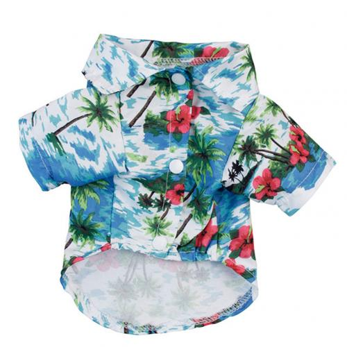 Summer Beach Shirts Dog Cute Hawaii Casual Pet Cat Clothing Floral T Shirt For Small Dogs.jpg 640x640 6 Trafoos Summer Beach Shirts for Dog Cute Hawaii Casual Pet Cat Clothing Floral T Shirt For Small Dogs Summer Beach Shirts for Dog