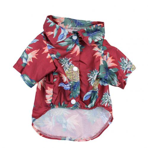 Summer Beach Shirts Dog Cute Hawaii Casual Pet Cat Clothing Floral T Shirt For Small Dogs.jpg 640x640 7 Trafoos Summer Beach Shirts for Dog Cute Hawaii Casual Pet Cat Clothing Floral T Shirt For Small Dogs Summer Beach Shirts for Dog