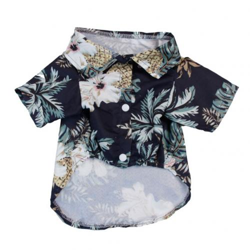 Summer Beach Shirts Dog Cute Hawaii Casual Pet Cat Clothing Floral T Shirt For Small Trafoos Summer Beach Shirts for Dog Cute Hawaii Casual Pet Cat Clothing Floral T Shirt For Small Dogs Summer Beach Shirts for Dog