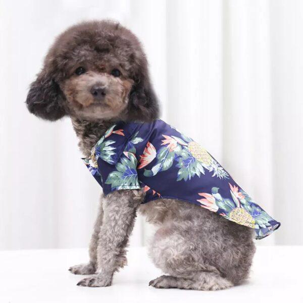 zPaTlqHV7f0CknQgu8mX9Eme2S57bkZK9jOccKkI Trafoos Summer Beach Shirts for Dog Cute Hawaii Casual Pet Cat Clothing Floral T Shirt For Small Dogs Summer Beach Shirts for Dog
